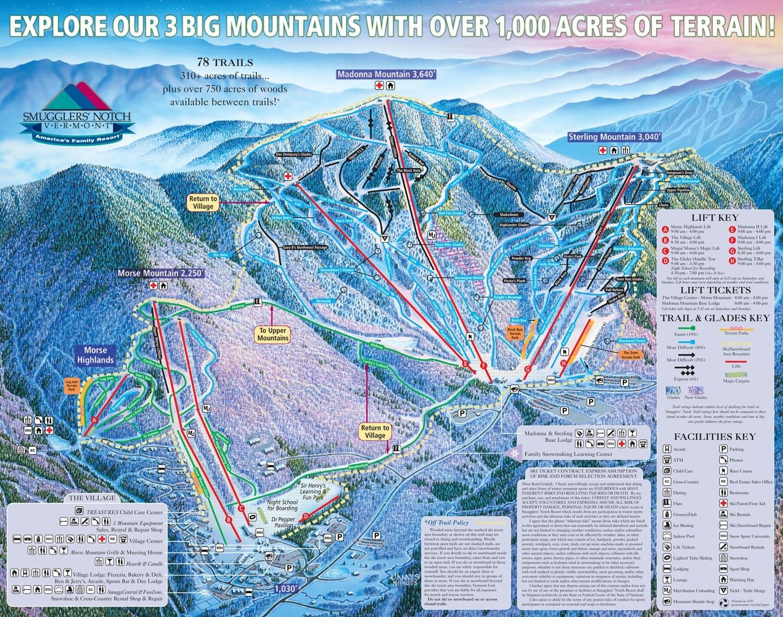 smugglers notch resort • ski holiday • reviews • skiing