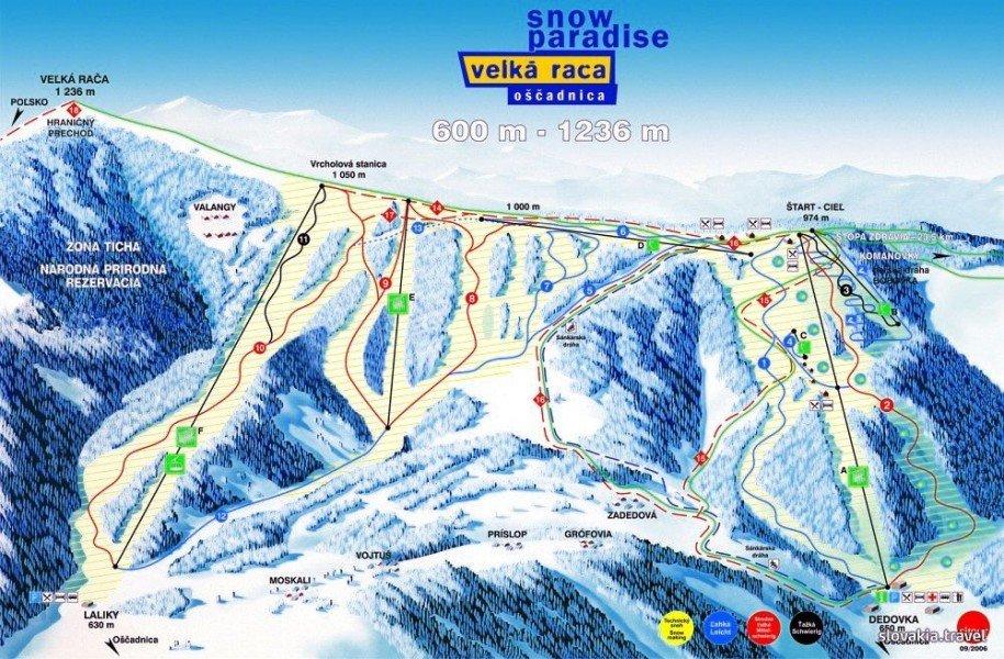 snow paradise velka raca � ski holiday � reviews � skiing