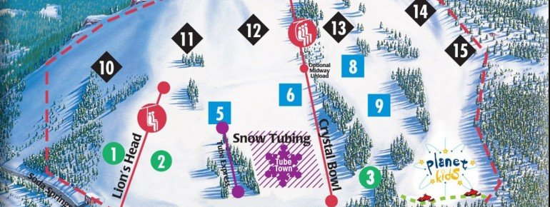 Trail Map Soda Springs