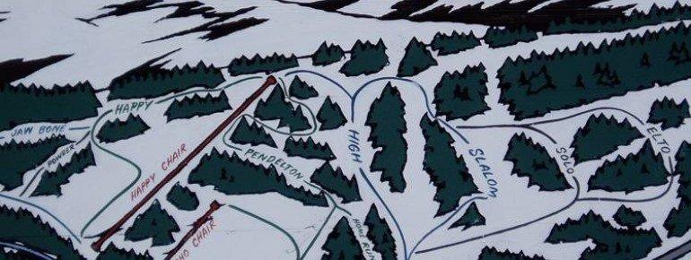 Trail Map Spout Springs
