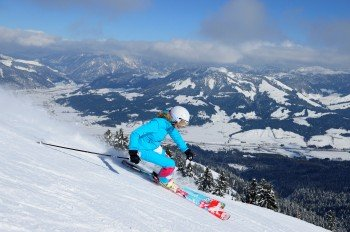 Get to top speed at St. Johann.