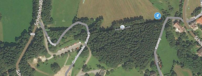 Trail Map St Radegund Lift