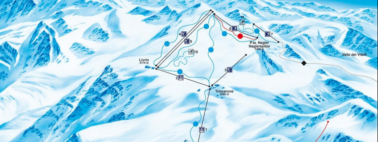 Trail Map Stilfser Joch