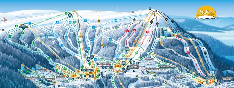 Trail Map Stöten