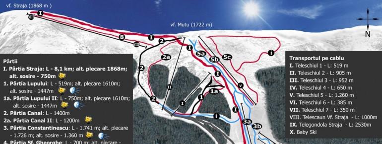 Trail Map Straja