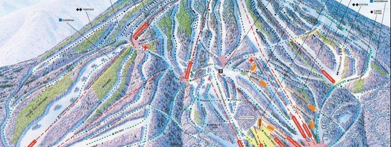 Trail Map Stratton Mountain Resort