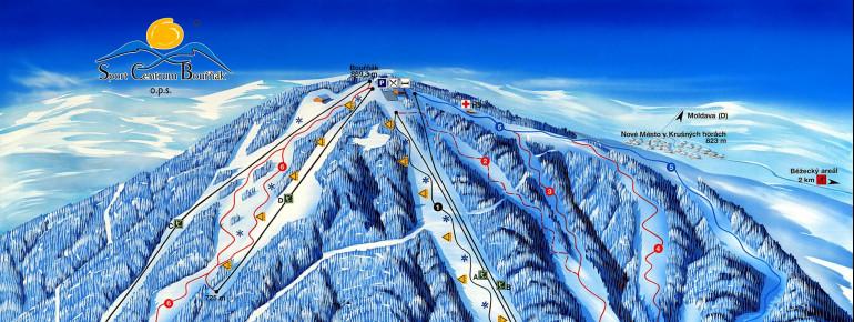 Trail Map Sturmer Bournak