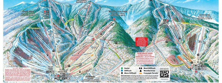 Trail Map Sugarbush Resort