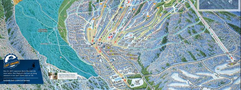 Trail Map Sugarloaf USA