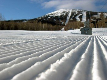 Sugarloaf boasts perfect snow conditions.