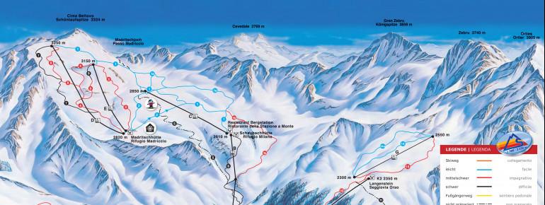 Trail Map Sulden