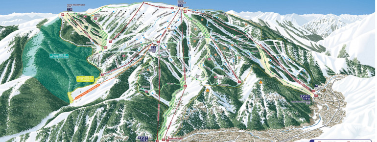 Trail Map Sun Valley