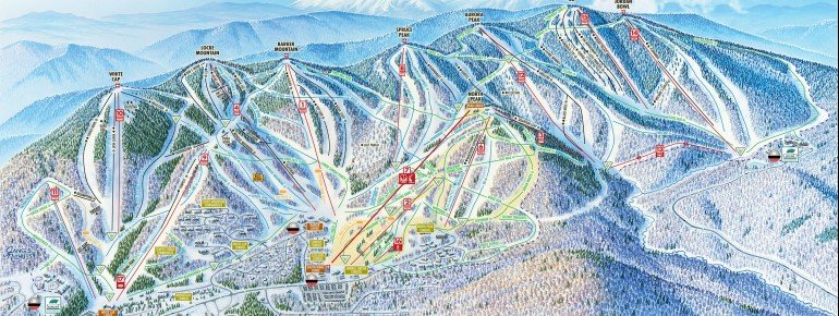Trail Map Sunday River Ski Resort