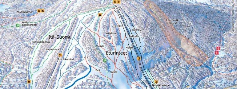 Trail Map Suomu