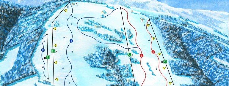 Trail Map Synot Kycerka