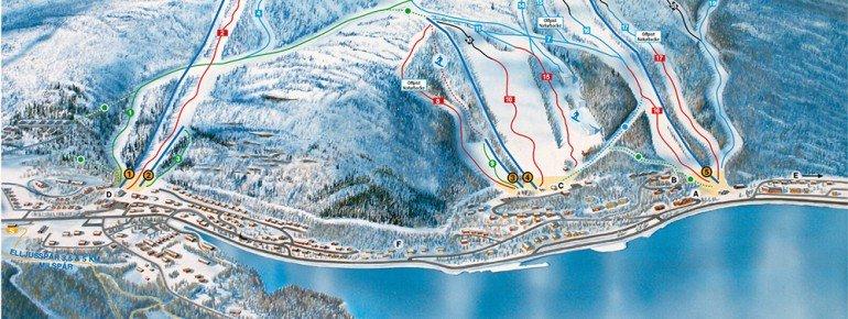 Trail Map Tärnaby