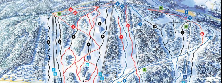 Trail Map Tahko