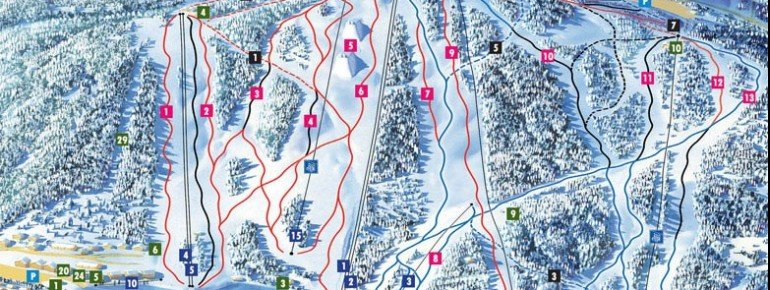 Trail Map Tahko