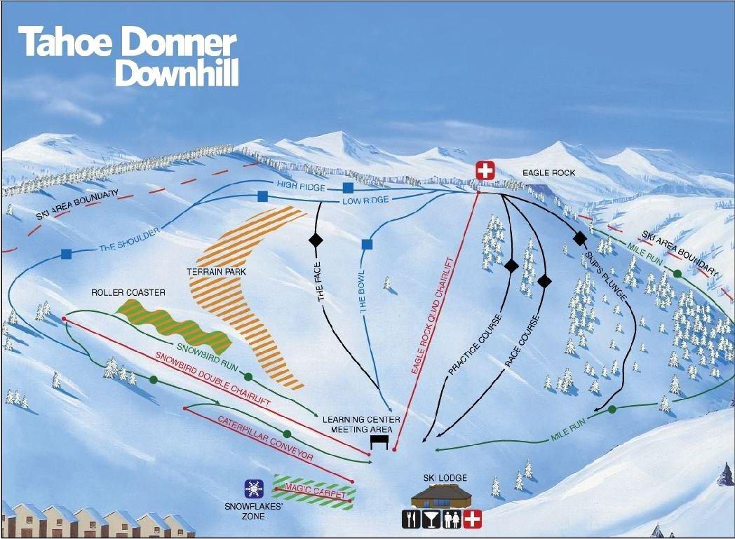 tahoe donner downhill • ski holiday • reviews • skiing