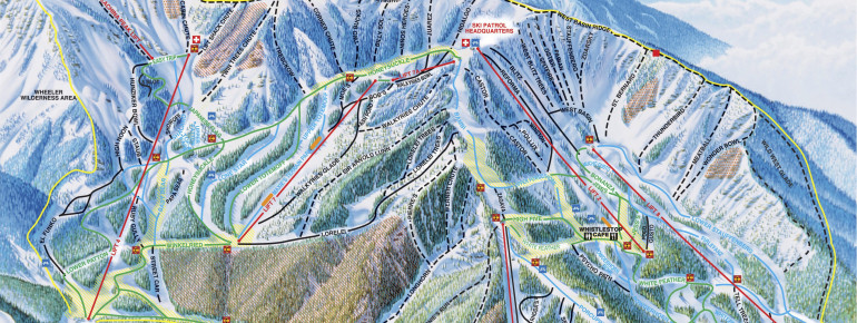 Trail Map Taos Ski Valley