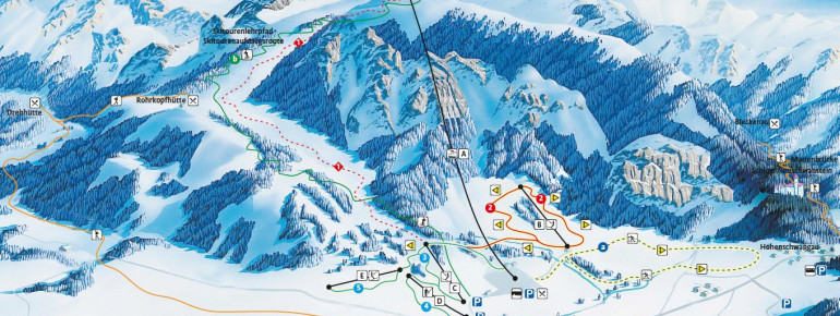 Trail Map Tegelberg