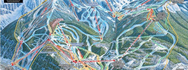 Trail Map Telluride