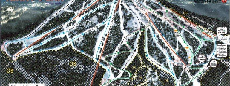 Trail Map Terry Peak Ski Area