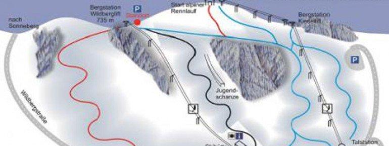 Trail Map Tettau