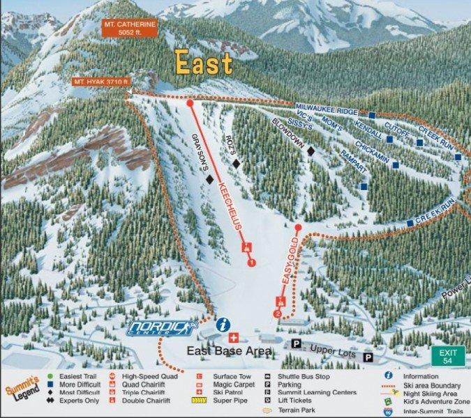 Snoqualmie Mountain Ski Tour