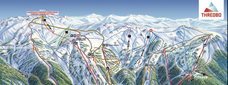 Trail Map Thredbo