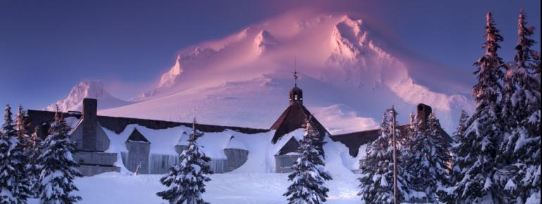 Mt Hood is Oregon's tallest mountain.