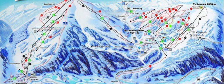 Trail Map Katschberg