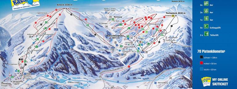 Trail Map Katschberg