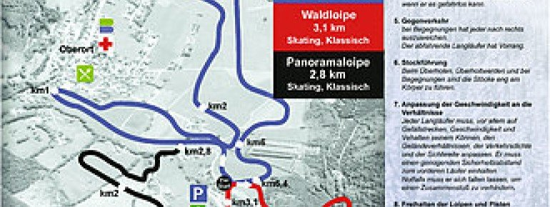 Trail Map Tragöss
