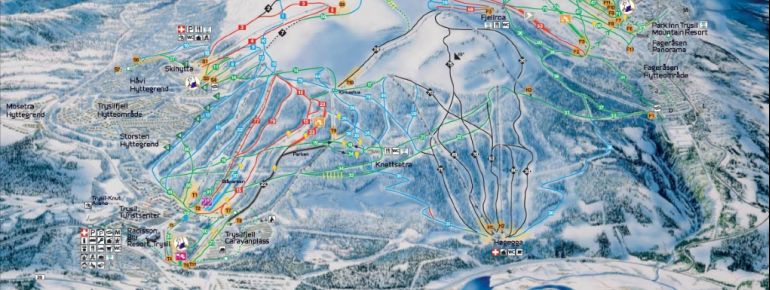 Trail Map Trysil