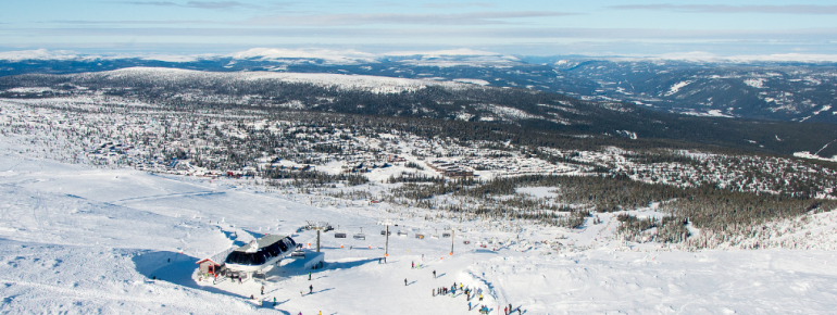 Trysil divides into four areas.