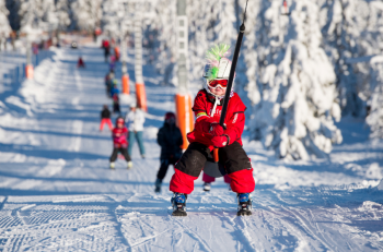 Trysil means skiing pleasure for the young and the old.