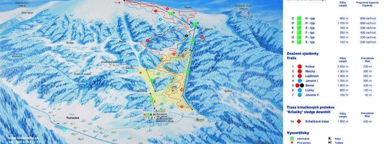 Trail Map Turecka Krizna