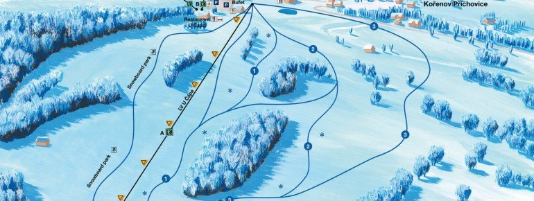Trail Map U Capa Prichovice