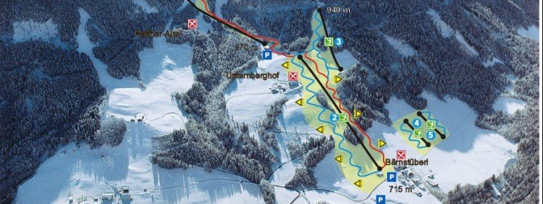 Trail Map Unternberg Ruhpolding