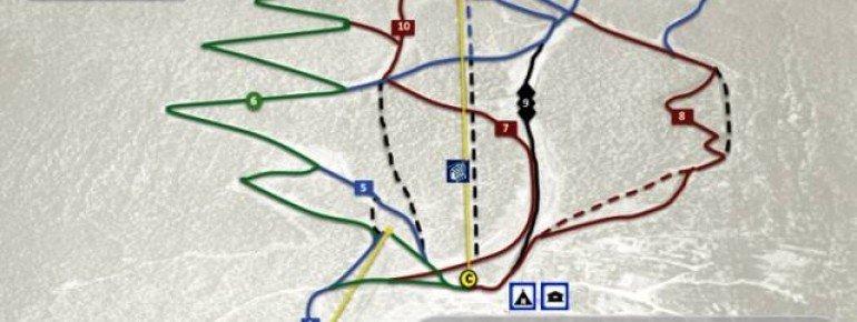 Trail Map Uvdal