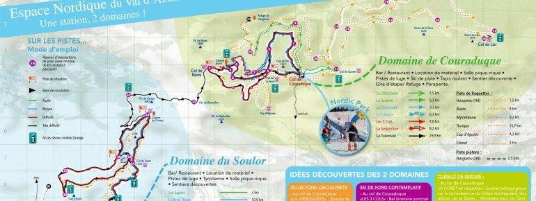 Trail Map Val d Azun