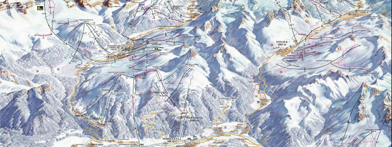 Trail Map Val di Sole