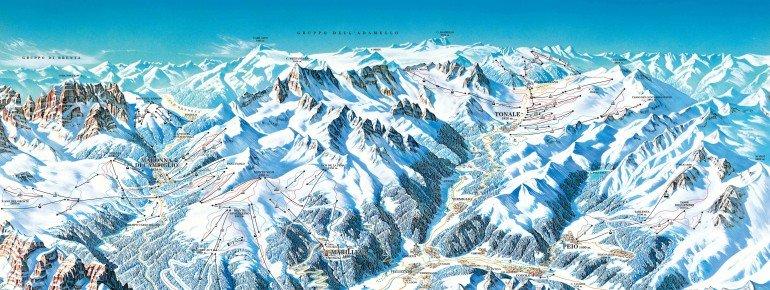 Trail Map Val di Sole