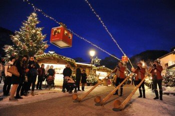 Christmas feeling in Val Gardena