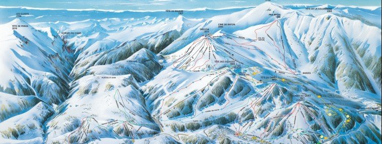 Trail Map Valberg