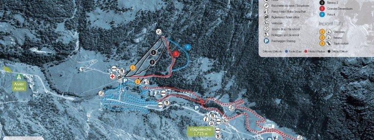 Trail Map Valgrisenche
