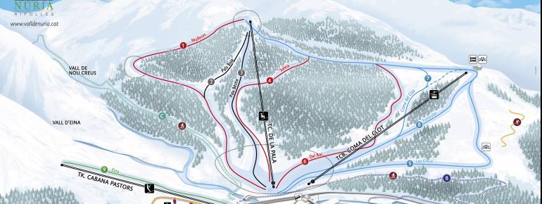 Trail Map Vall de Nuria