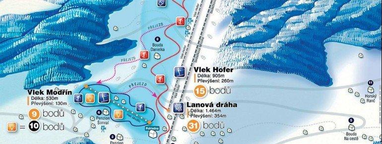 Trail Map Velka Upa