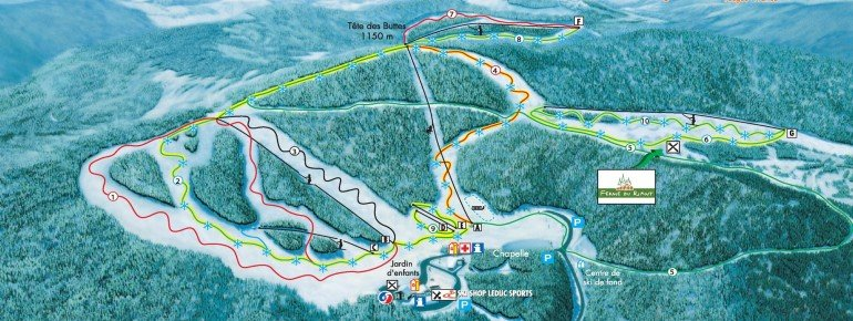 Trail Map Ventron